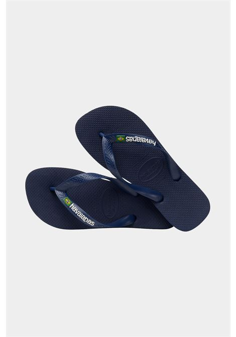 Blue baby h brasil logo fc flip flops. Havaianas HAVAIANAS | Flip flops | 4110850.0555.I250555