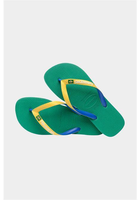 Infradito hav. brasil mix fc unisex verde tropical havaianas HAVAIANAS | Infradito | 4123206.2078.M192078