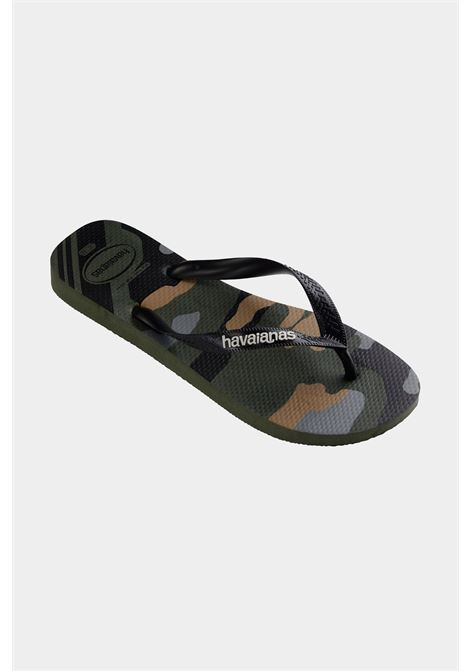 Infradito h. top camu fc verde olive unisex verde militare havaianas HAVAIANAS | Infradito | 4141398.4896.M194896