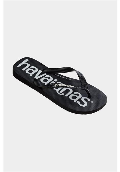 Infradito top logo mania fc preto black unisex nero havaianas HAVAIANAS | Infradito | 4144264.0090.M18M18