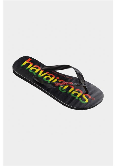Black baby top logo mania fc flip flops. Havaianas HAVAIANAS | Flip flops | 4144264.7652.I257652