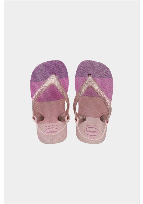 Infradito baby palette glow neonato candy pink havaianas HAVAIANAS | Infradito | 4145753.5179.B045179