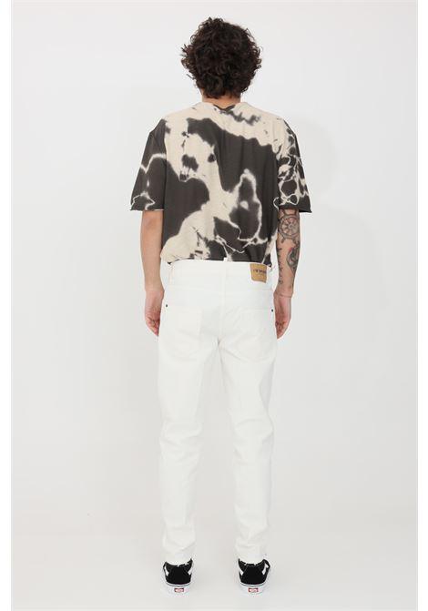 Pantaloni uomo bianco i'm brain casual I'M BRIAN | Pantaloni | ALANCL1608002