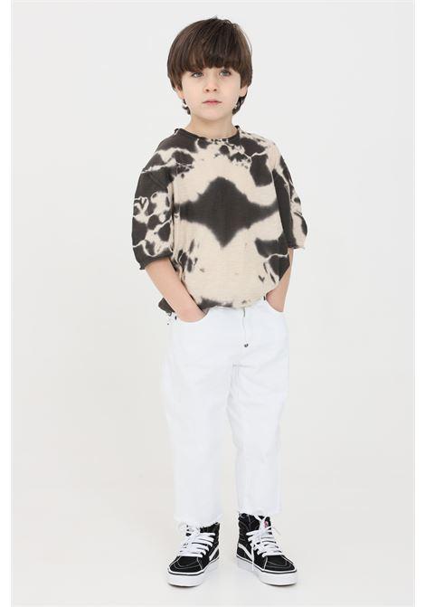 Pantaloni bambino bianco i'm brain I'M BRIAN | Pantaloni | ALEXJCL1608002
