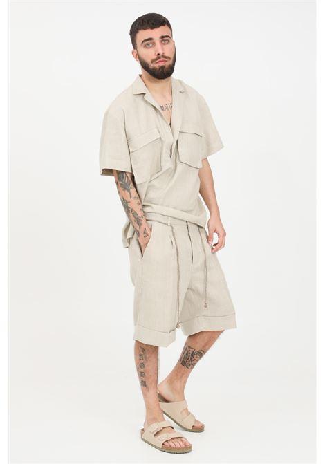 Shorts uomo sabbia i'm brian casual I'M BRIAN | Shorts | BE1629SABBIA