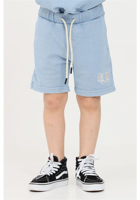 Shorts bambino celeste i'm brain I'M BRIAN | Shorts | BF1682JCEL