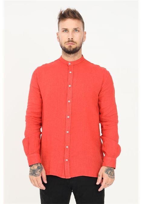 Red men's shirt casual model i'm brian I'M BRIAN | Shirt | CA1729ARAGOSTA