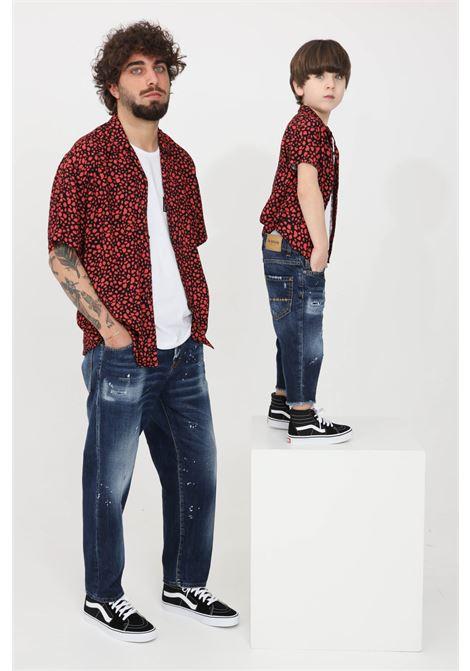 Red casual shirt i'm brian I'M BRIAN | Shirt | CA17310028