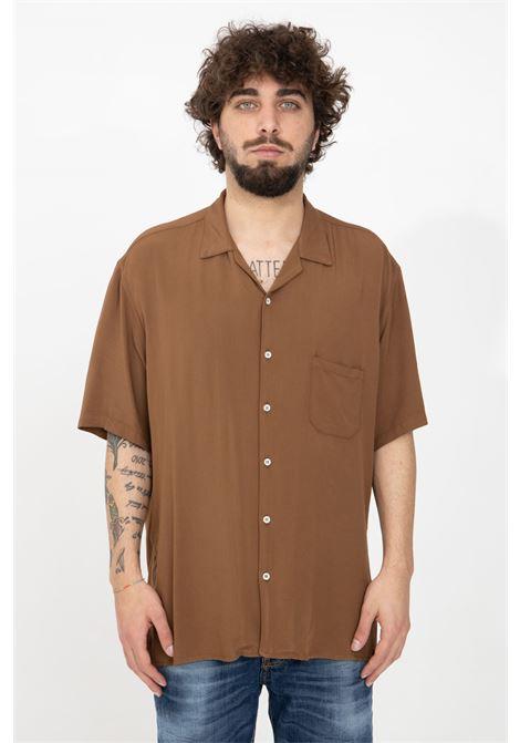 Brown casual shirt i'm brian I'M BRIAN | Shirt | CA1738020