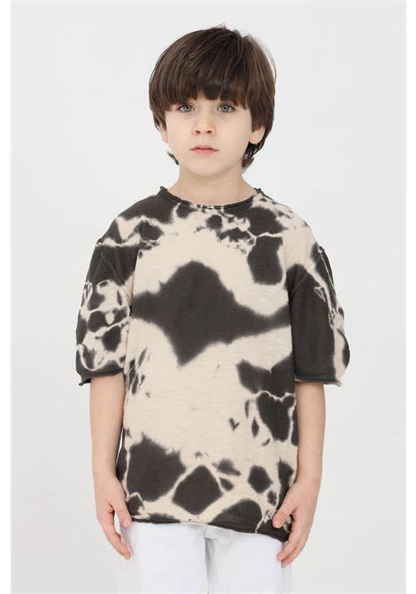 T-shirt bambino sabbia i'm brain I'M BRIAN | T-shirt | MA1671JSABBIA