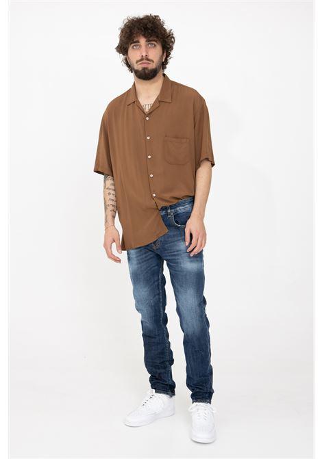 Jeans men's denim model 5 pockets i'm brain I'M BRIAN | Jeans | MIRKOL1607L1607