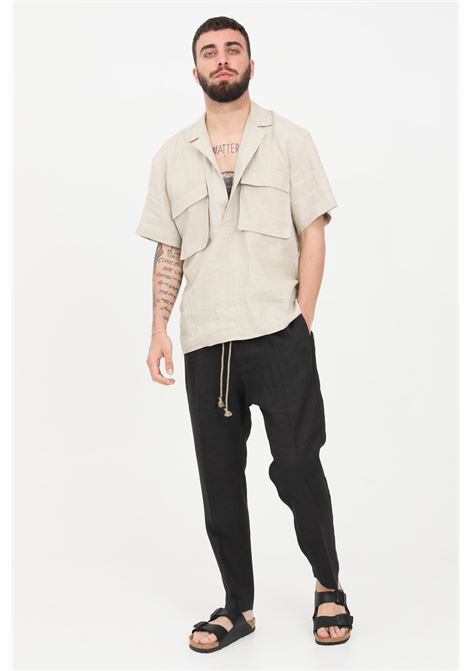 Pantaloni uomo nero i'm brian casual I'M BRIAN | Pantaloni | PA1628009