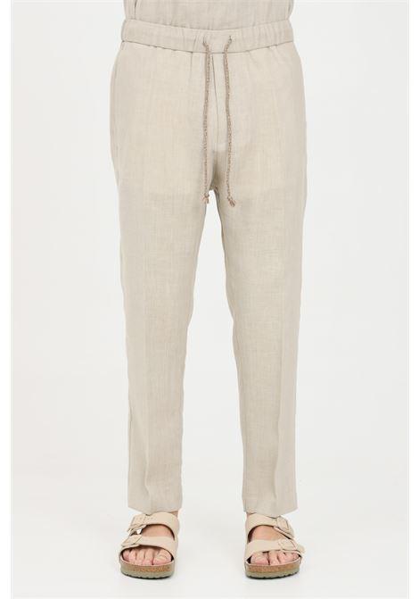 Pantaloni uomo sabbia i'm brian casual I'M BRIAN | Pantaloni | PA1628SABBIA