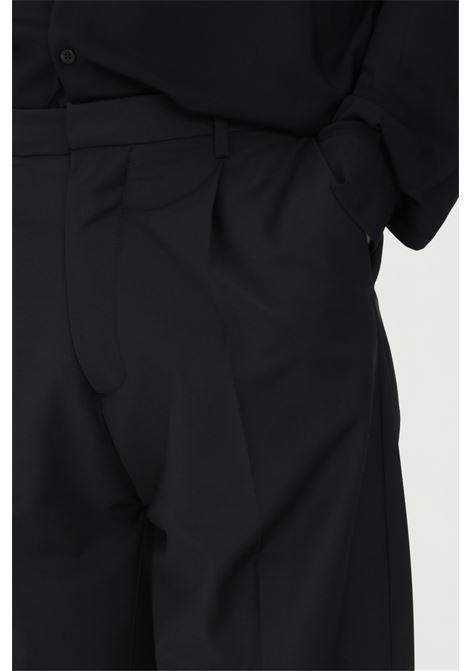 Pantaloni uomo nero i'm brian casual I'M BRIAN | Pantaloni | PA1635009