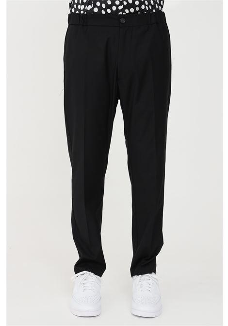 Pantaloni uomo nero i'm brain casual I'M BRIAN | Pantaloni | PA1645009