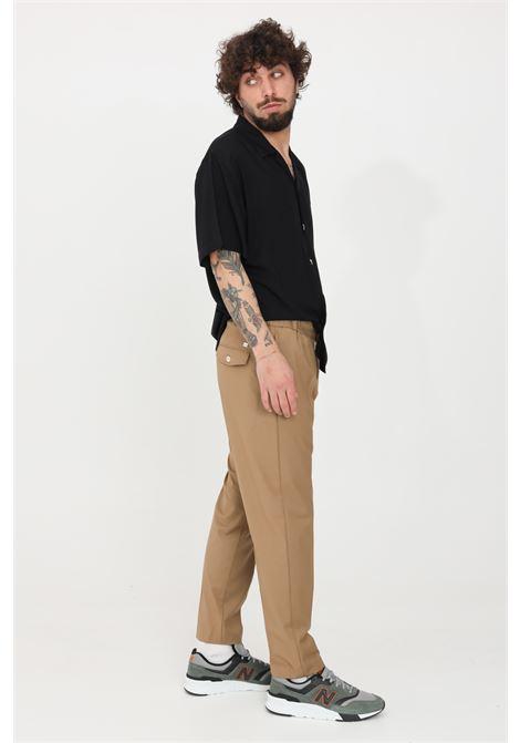 Pantaloni uomo marrone i'm brain casual I'M BRIAN | Pantaloni | PA1645035