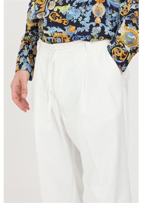 Pantaloni uomo bianco i'm brain casual I'M BRIAN | Pantaloni | PA1648002