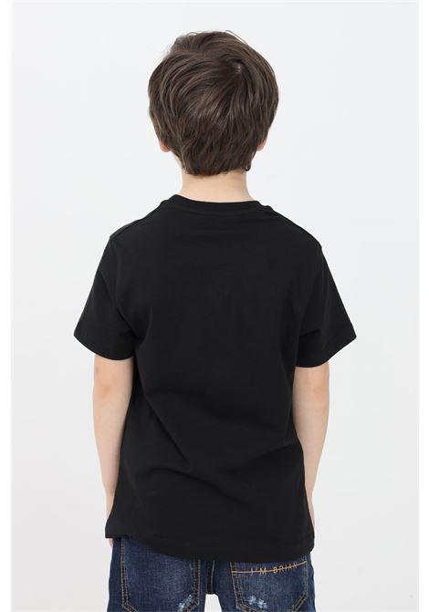 T-shirt bambino nero i'm brain manica corta I'M BRIAN | T-shirt | TS1702J009