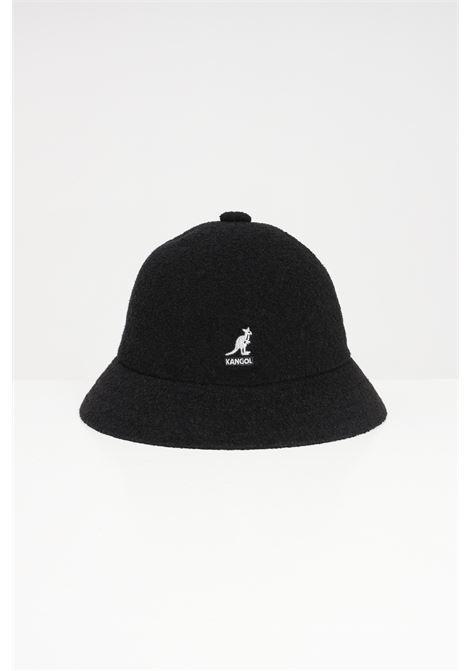 CappelloTropic Casual unisex nero Kangol, modello bucket con logo a contrasto KANGOL | Hat | 0397BC.BK001