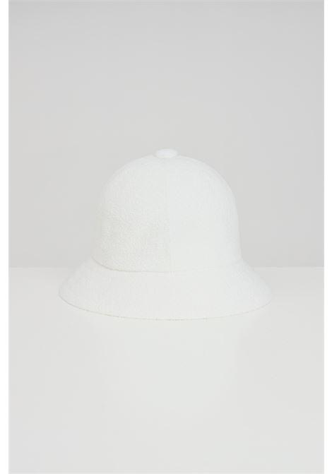 CappelloTropic Casual unisex bianco Kangol, modello bucket con logo a contrasto KANGOL | Cappelli | 0397BC.WH103