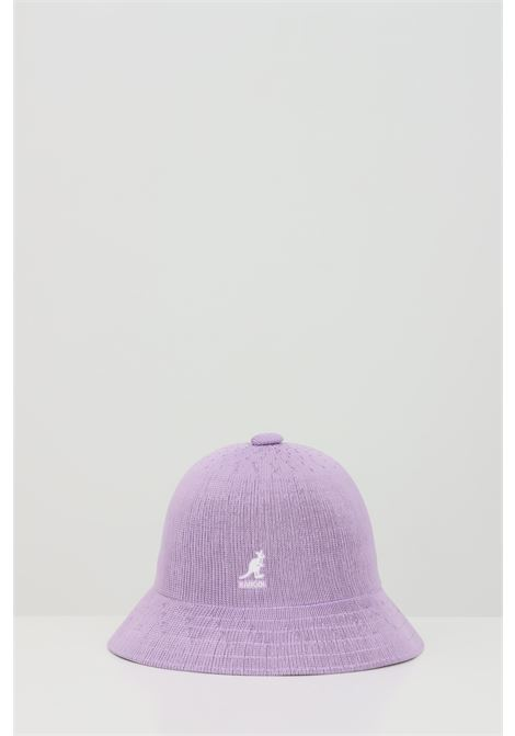 Lilac Tropic Casual hat, bucket model in solid color with contrasting logo. Kangol KANGOL | Hat | K2094STLV281