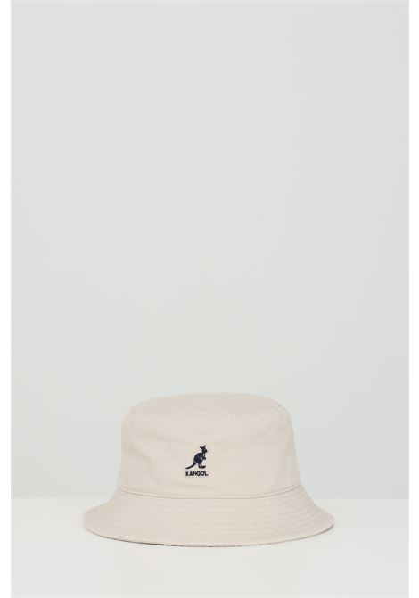 Beige bucket with contrasting front logo. Kangol KANGOL | Hat | K4224HTKH262