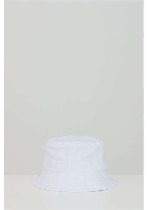 Bucket unisex bianco kangol modello bucket con logo frontale a contrasto KANGOL | Cappelli | K4224HTWH103