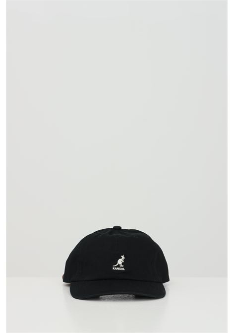 Black hat with embroidered logo. Kangol KANGOL | Hat | K5165HTBK001
