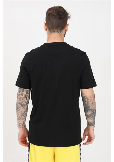 Black unisex t-shirt short sleeve kappa KAPPA | T-shirt | 303HZ70005