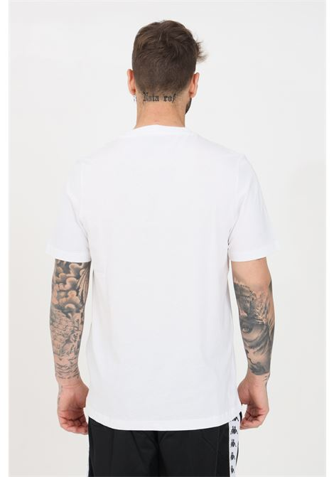 White unisex t-shirt short sleeve kappa KAPPA | T-shirt | 303HZ70903
