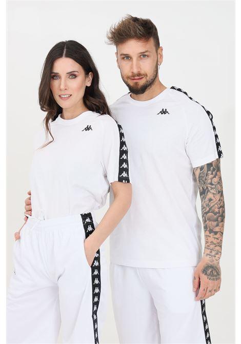 White unisex t-shirt short sleeve kappa KAPPA | T-shirt | 303UV10A99