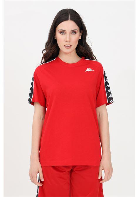 T-shirt unisex rosso kappa a manica corta KAPPA | T-shirt | 303UV10C00