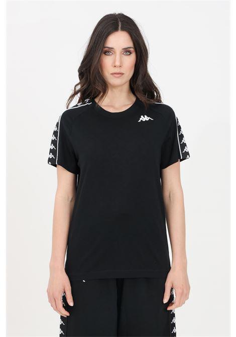 Black unisex t-shirt short sleeve kappa KAPPA | T-shirt | 303UV10C02