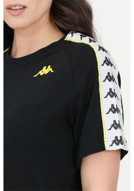 T-shirt unisex nero kappa a manica corta KAPPA | T-shirt | 303UV10C1C
