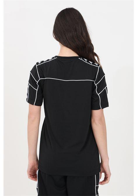 Black unisex t-shirt short sleeve kappa KAPPA | T-shirt | 303WBS0BZB