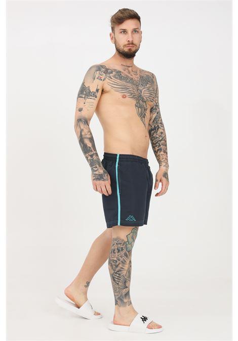 Blue logo zolpipy beach shorts kappa KAPPA | Beachwear | 303WER0A03