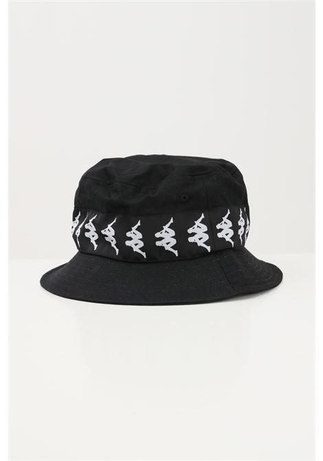 Black unisex bucket with logo band kappa KAPPA   Hat   304KRT0005