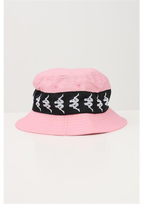 Pink unisex bucket with logo band kappa KAPPA   Hat   304KRT0BZ5