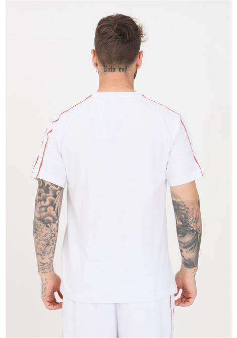 White unisex t-shirt short sleeve kappa KAPPA | T-shirt | 304M510A0Y