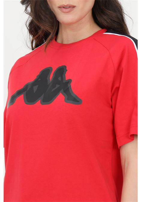 Red unisex t-shirt short sleeve kappa KAPPA | T-shirt | 304M510A2K