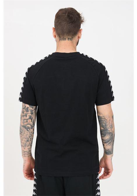 Black unisex t-shirt short sleeve kappa  KAPPA | T-shirt | 304NQ00903