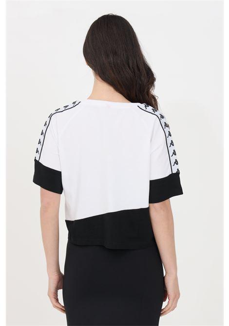 T-shirt kappa banda balimnos donna bianco manica corta KAPPA | T-shirt | 304NQ10946