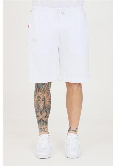 White unisex shorts kappa KAPPA | Shorts | 304PVA0A0Y
