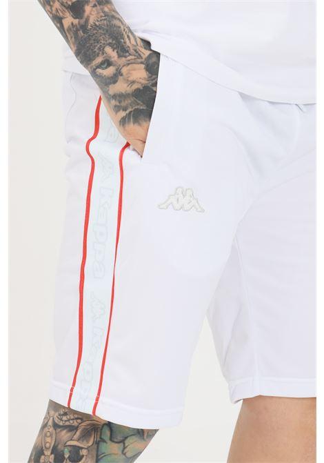 White unisex shorts kappa KAPPA | Shorts | 304PVB0A0Y