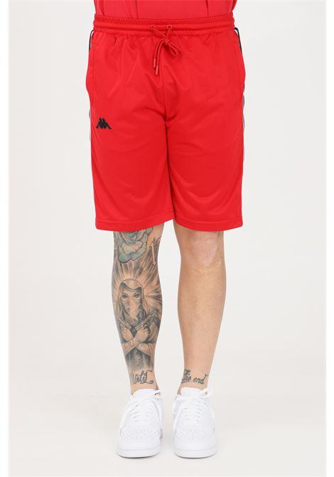 Red unisex shorts kappa KAPPA | Shorts | 304PVB0A2K