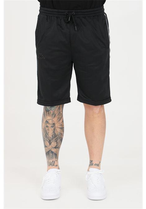 Black unisex shorts kappa KAPPA | Shorts | 304PVB0A2T