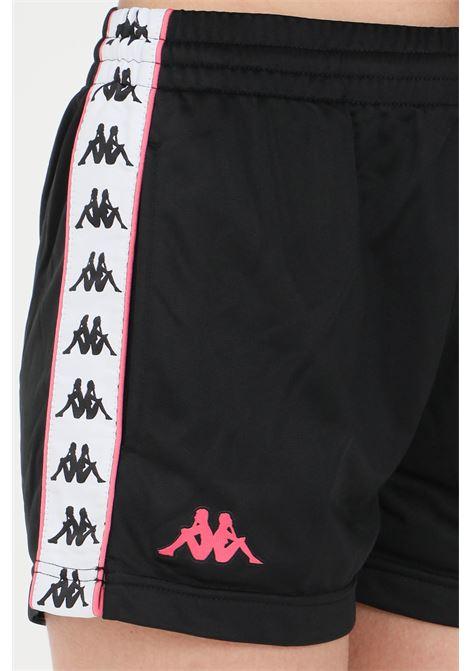 Black women's banda tready shorts kappa KAPPA | Shorts | 304S7L0BX0