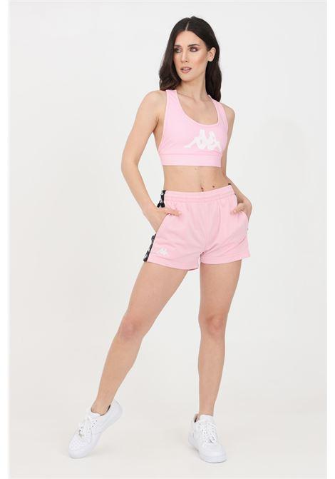 Shorts banda tready donna rosa kappa sport KAPPA | Shorts | 304S7L0BZ5