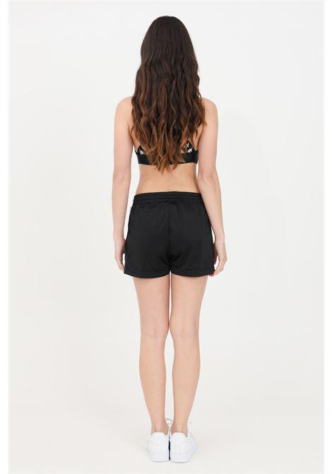 Shorts banda tready donna nero kappa sport KAPPA | Shorts | 304S7L0BZV
