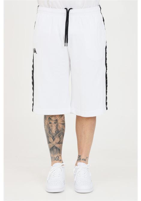 White unisex shorts kappa KAPPA | Shorts | 3111I3WA01